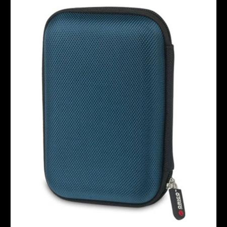 Orico  Draagbare beschermhoes / beschermtas voor een 2.5 inch harde schijf - Inclusief ruimte voor accessoires - Vochtbestendig, stofdicht en antistatisch - Blauw