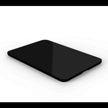 Orico   Zwarte antislipmat voor in de auto – Gemaakt van siliconen – afwasbaar – voor smartphone, tablet, parkeerkaart et cetera. - 145 x 220 x 3mm (LxBxH)