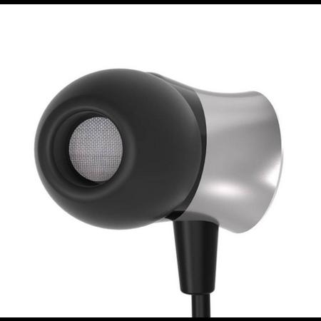 Orico   In-ear koptelefoon met microfoon en bedieningsknopje - 3,5mm jack - Hoge resolutie audio - Zwart