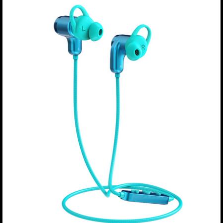 Orico  Bluetooth In-ear sport headset / koptelefoon met volumeregelaar, microfoon en bedieningsknop - Bluetooth 5.0 + EDR - 10 meter bereik - 110mAh - Waterdicht - Stofdicht - Incl. laadkabeltje - Blauw