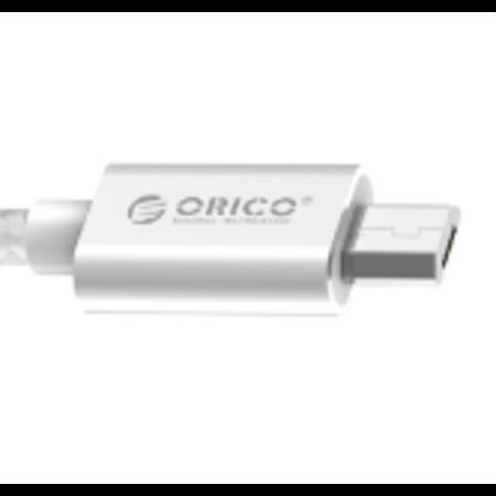 Orico  A naar Micro USB laadkabel - 2.4A - 15 cm - Zilver