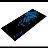 Orico  XXL game-muismat gemaakt van natuurlijk rubber - geschikt voor ontwerpers - mooie afwerking - antislip ontwerp - wasbaar - zwart/blauw