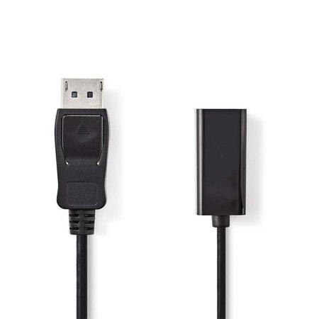 Kabel DisplayPort -HDMI adapterkabel DisplayPort male - 0.2M