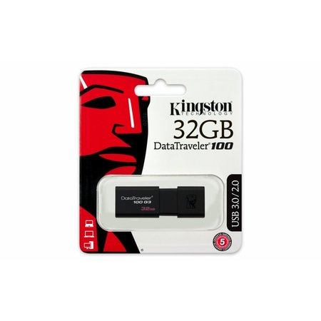 Kingston Storage  DataTraveler 100G3 32GB USB3.0