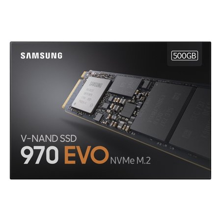 Samsung SSD  970 EVO M.2 500GB PCI Express TLC 3d-vnand