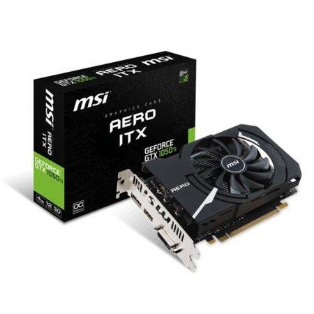 MSI VGA  GeForce GTX 1050 TI Aero 4GB LP