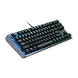 CoolerMaster Cooler Master Gaming CK530 toetsenbord USB QWERTY Amerikaans Engels Zwart, Roestvrijstaal