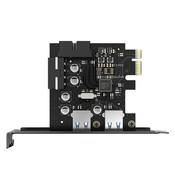 Orico  PCIe kaart - 2x USB 3.0 - 5Gbps SuperSpeed - Zwart