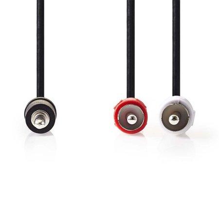 Kabel Audio 2x RCA - Jack 3.5 Stereo 3 meter