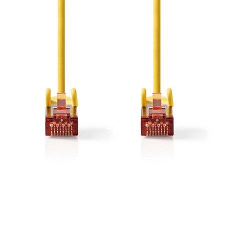 Nedis CAT6 S/FTP-netwerkkabel/RJ45 3m Geel