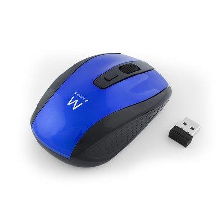 Ewent Wireless mouse blue 1000/1200/1600dpi