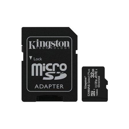 Kingston SDCARD  Canvas Select MicroSD 32GB Class10 + adapter