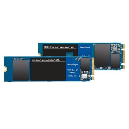 Western Digital SSD WD Blue SN550 NVMe M.2 500GB PCI Express