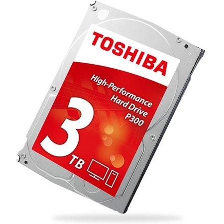 Toshiba HDD  P300 3TB  - 3.5inch - 7200RPM - 64MB - SATA3