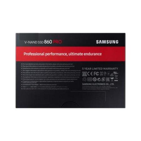 """Samsung 860 PRO 2.5"""" 2000 GB SATA III V-NAND MLC"""