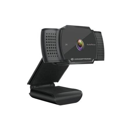 Conceptronic AMDIS 2K Super HD Webcam+Microphone Black