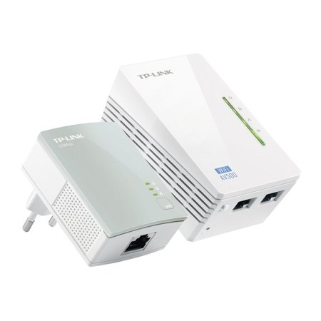 TP-Link WPA4220KIT AV500 WiFi Powerline Extender 300Mbps KIT