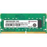 Transcend JetRam JM3200HSE-16G geheugenmodule 16 GB 1 x 8 GB DDR4 3200 MHz