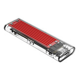 Orico  NVMe M.2 SSD/M.2 SSD behuizing 10Gbps - rood