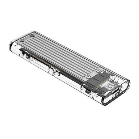 Orico  Dual protocol NVMe M.2 SSD/M.2 SSD behuizing 10Gbps - zilver