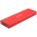 Orico  NVMe M.2 SSD behuizing - 10Gbps - Aluminium - rood