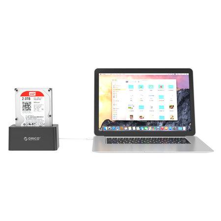 Orico  Orico USB 3.0 SATA Docking Station voor 2.5 en 3.5 Inch harde schijven -
