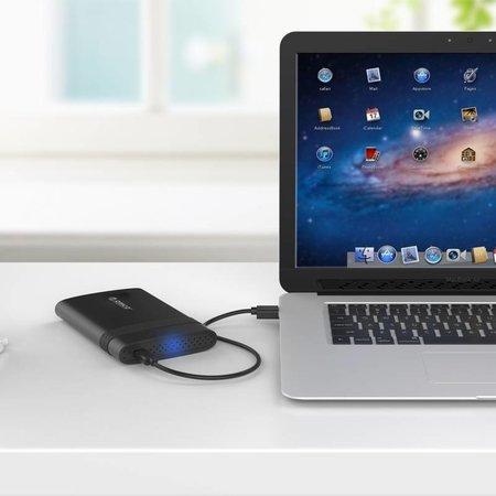 Orico  Type-C Harde Schijfbehuizing 2.5 Inch USB 3.0 SATA HDD/SSD Draagbaar Zwart -