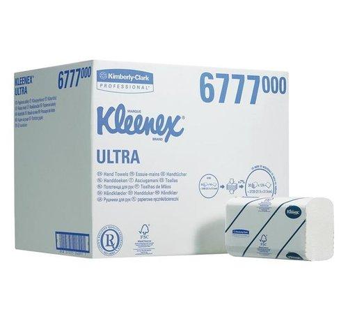 Kleenex Handdoeken 2-laags 21,5x31,5cm wit 6777 (30x124 stuks)