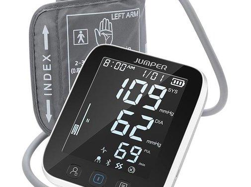 Jumper Jumper Bovenarm bloeddrukmeter met Bluetooth