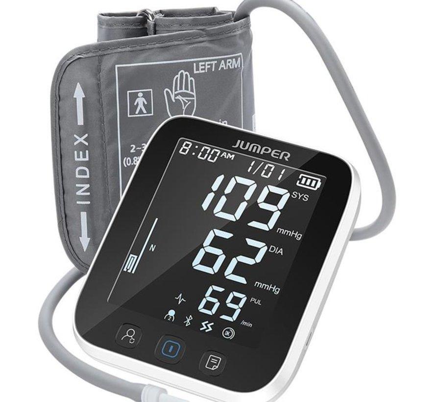 Jumper bovenarm bloeddrukmeter met Bluetooth