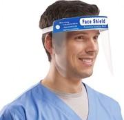 DispoDeals 1 Face Shield anti-fog voor directe bescherming (spatmasker, beschermingsmasker, gelaatsmasker)