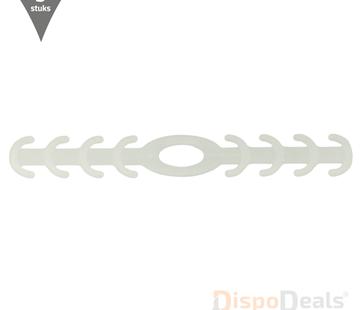 DispoDeals Ear Savers transparant (vijf stuks)