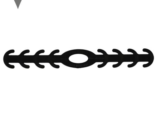 DispoDeals Ear Savers zwart (vijf stuks)