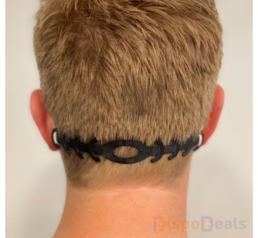 Ear Savers zwart (vijf stuks)
