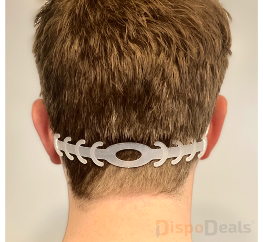 Ear Savers transparant (per stuk)