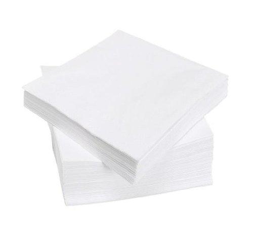 DispoDeals Servet 33x33cm wit 2laags cellulose 3000st (158030)