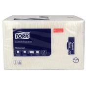 Tork Tork 509300 lunch servetten 33x33cm 1/4-vouw - 1 laags wit (8x 500 stuks)