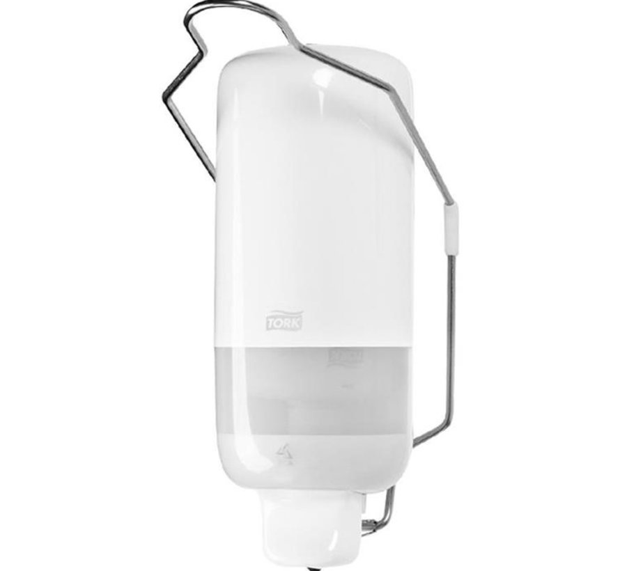 Tork Vloeibare Zeep Dispenser met Armbeugel Wit S1