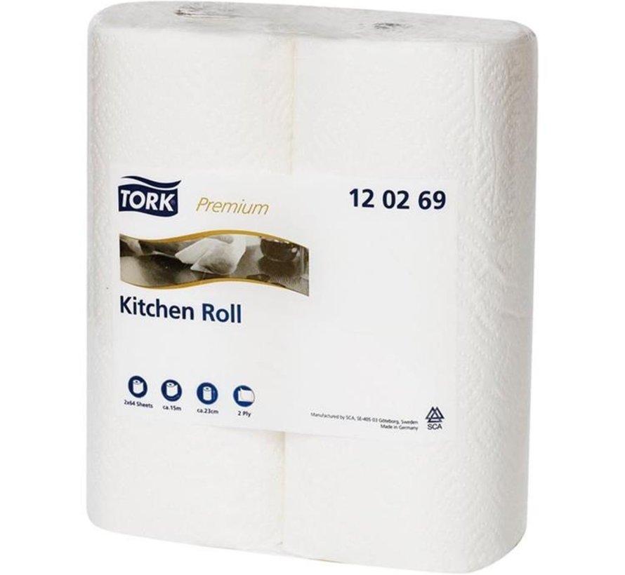 Tork 120269 papieren handdoek Papier Wit (24 rollen)