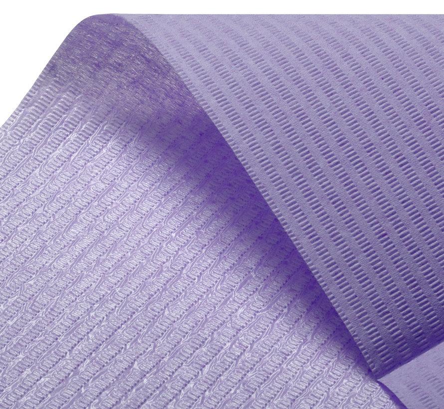 Dental Towels 33x45cm paars (3-laags)