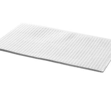 DispoDeals Dental Towels 33x45cm wit - 500 stuks (3-laags)