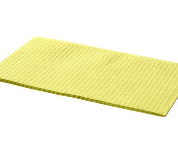 DispoDeals Dental Towels 33x45cm geel (3-laags)