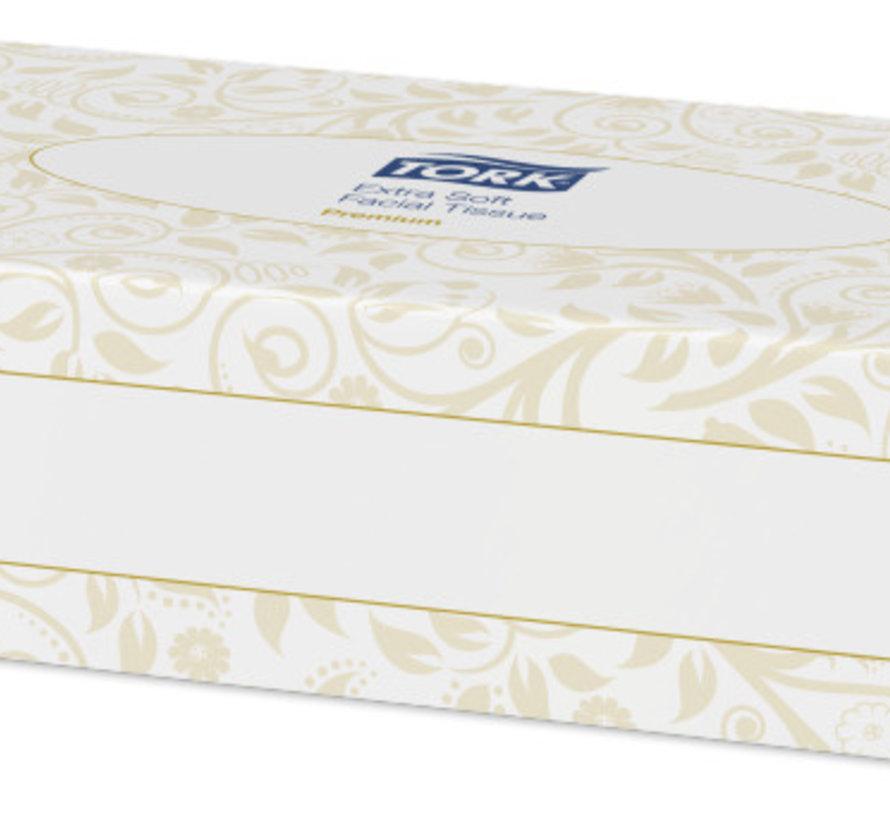 Tork 140280 Extra Soft facial tissues 20x21 cm - 2 laags (30x 100 stuks)