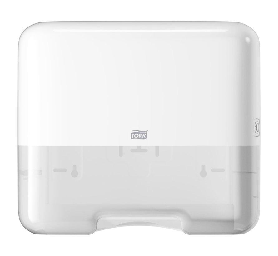 Tork 553100 Singlefold/C-vouw Mini Handdoek H3 Dispenser (per stuk)