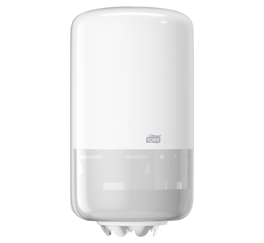Tork 558000 Mini Centerfeed Poetspapier M1 Dispenser (per stuk)