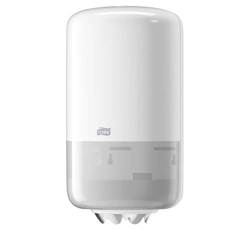 Tork Tork 558000 Mini M1 dispenser met Tork 120123 ( 11 rollen 21,5 cm x 120 m 1 laags)