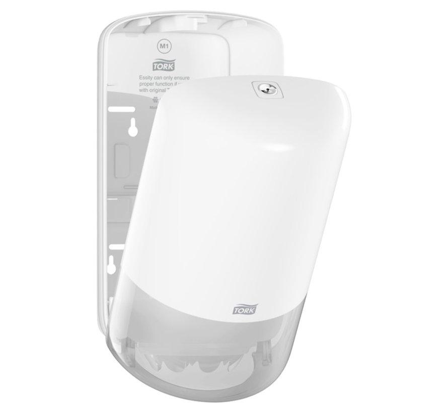 Tork 558000 Mini M1 dispenser met Tork 120123 ( 11 rollen 21,5 cm x 120 m 1 laags)