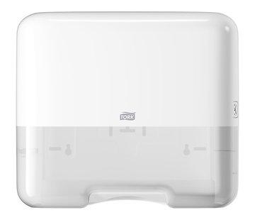 Tork Tork H3 Mini Dispenser met 23 cm x 24,8 cm - 1 laags handdoeken (15x 300 stuks)