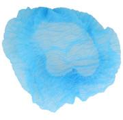 DispoDeals Haarnetje Blauw - L (52cm) - 100 stuks