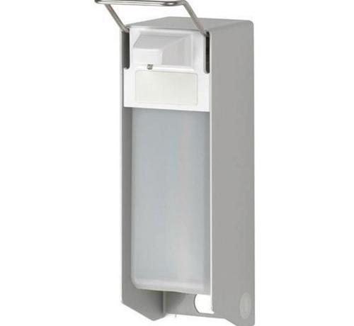 DispoDeals Universele wand/muur dispenser van medische kwaliteit inclusief lege 500 ml fles (per stuk)